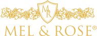 Mel and Rose Logo